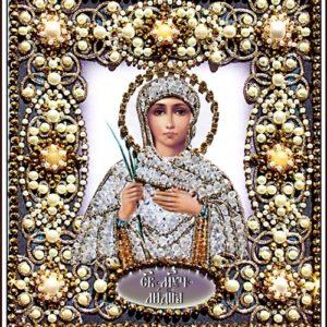 Образа в каменьях икона Святая Лидия арт. 77-и-12