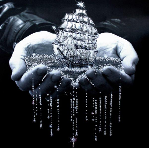 Образа в каменьях Паруса Надежды арт. 5501