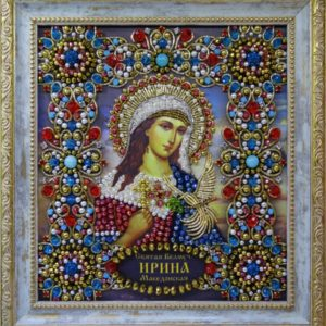 Хрустальные грани Образ Святой Ирины Македонской арт. Ии-02