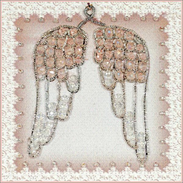 Образа в каменьях магнит День ангела арт. М-54